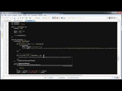 Facebook and FourSquare API checkin calls with SVG in HTML (Screencast)