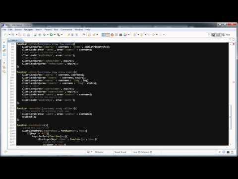 node.js, socket.io, and redis: Beginners Tutorial (Screencast)