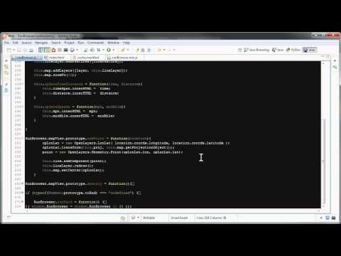 HTML5 Run Tracking Application (Screencast)